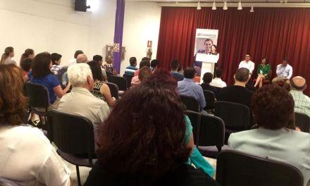 Ciudadanos explica en la Casa de Cultura de Caravaca sus propuestas deportivas, turísticas y de formación