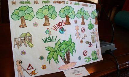 Escolares cehegineros de Primaria reflejan en sus carteles su visión del Día Mundial del Medio Ambiente