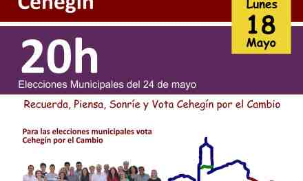 Cehegín por el Cambio vota en contra de la creación de plaza de secretario de Alcalde
