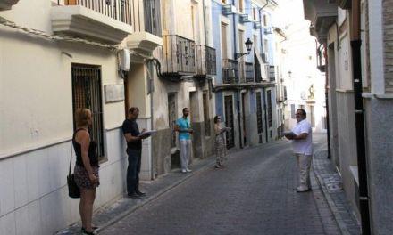 """Un equipo multidisciplinar desarrolla el proyecto """"Mapas de Calidad en el Casco Histórico de Caravaca"""""""