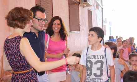 El Alcalde de Cehegín y las Concejalas de Educación y Servicios Sociales visitan las escuelas de verano