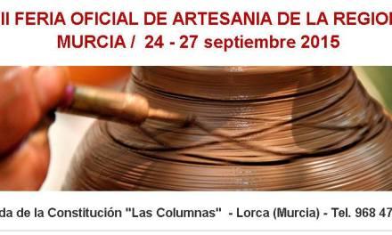FERAMUR 2015 se celebra en Lorca entre el 24 y el 27 de septiembre
