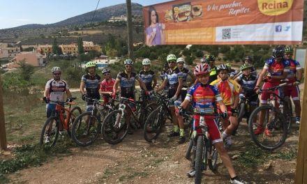 Inaugurado en Inazares un circuito de entrenamiento para ciclistas