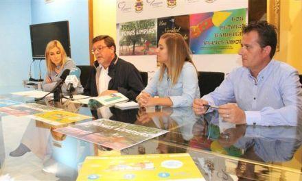 El Ayuntamiento de Caravaca inicia actuaciones educativas orientadas al cuidado de las zonas verdes y la recogida selectiva