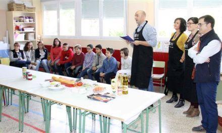 """Más de 550 escolares de Caravaca participan en el concurso """"La tapa junior»"""