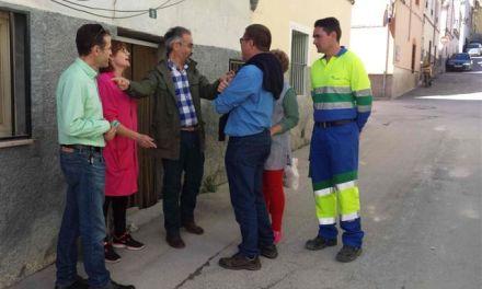 Renuevan las redes abastecimiento de agua potable en las calles Miguel de Unamuno y Bajo Era