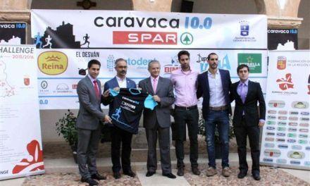 El Castillo de Caravaca acogió la presentación del IV Circuito de Carreras Populares de la Región