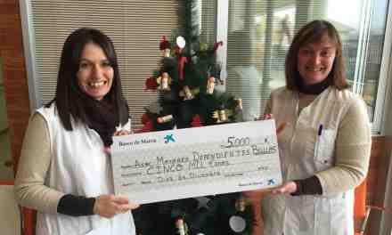 Donación de La Caixa a la Asociación de Mayores Dependientes de Bullas