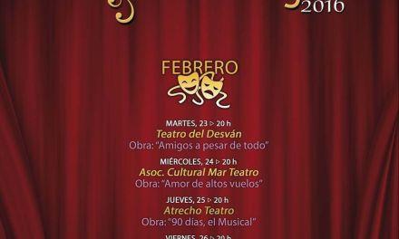 El XIII Certamen de Teatro Aficionado 'Ciudad de Cehegín' comienza el lunes con la obra 'Amigos a pesar de todo'