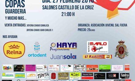 Sal Fuera organiza en Salones Castillo de Caravaca una gala benéfica para acudir a la Jornada Mundial de la Juventud en Cracovia