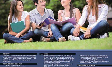 Un acuerdo permite el intercambio entre jóvenes de Caravaca y Obertshausen para favorecer la inmersión lingüística