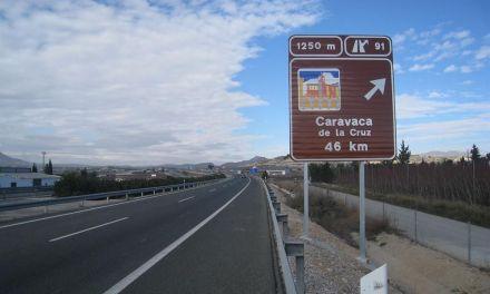 La Comunidad instala nuevos carteles para informar a los conductores de la proximidad de lugares de interés turístico
