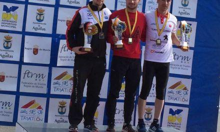 Tercer puesto para Cristóbal García en el primer Clasificatorio Campeonato de España de Duatlón Elite.