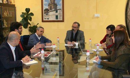 El Ayuntamiento y el Instituto de Turismo se reúnen para impulsar el Plan Director del Camino de la Cruz de Caravaca