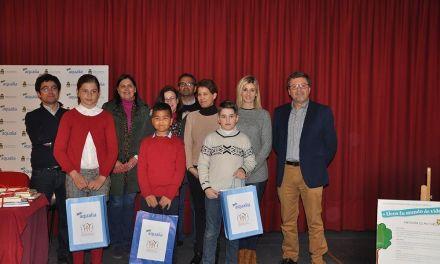 Entregados en Caravaca los premios del concurso de dibujo de Aqualia