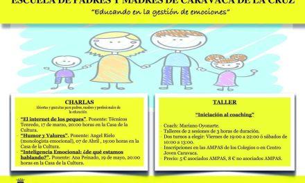Una 'Escuela de Padres y Madres' de Caravaca ofrece información y recursos para la educación de los menores