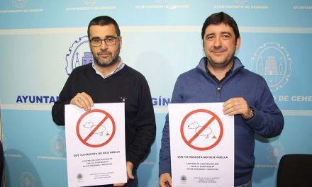 """El Ayuntamiento de Cehegín lanza la campaña """"Que tu mascota no deje huella"""" y recuerda las sanciones a propietarios"""