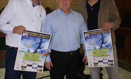 Presentado el I Torneo de Semana Santa «Antonio Ruiz Cervilla»