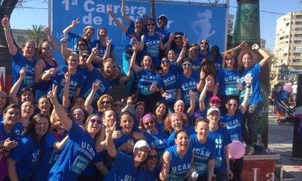 Woman Running, premiadas en la I Carrera de la Mujer de Murcia