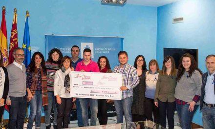 El Ayuntamiento de Caravaca recibe 5.000 euros de La Caixa para un programa de apoyo a menores en riesgo de exclusión social