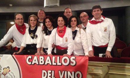 Loterías presenta un décimo dedicado a los Caballos del Vino en el 'Día del Pañuelo'