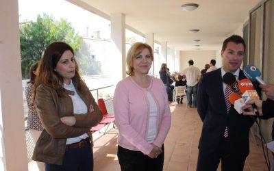 El Alcalde de Cehegín y la Consejera de Familia visitan los diferentes centros asistenciales del municipio