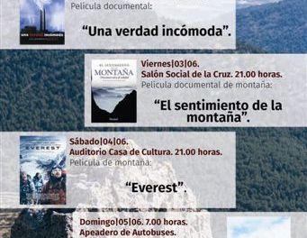 I Ciclo en Bullas de Cine de Montaña, Naturaleza y Medio Ambiente