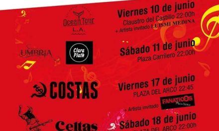 El festival Vaca Pop lleva la música de ocho a bandas a espacios urbanos de Caravaca