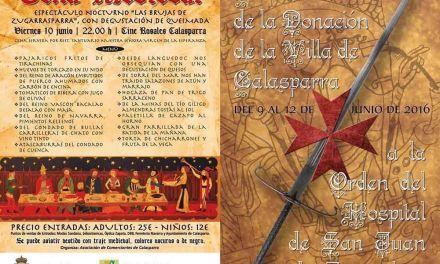 Calasparra medieval del 9 al 12 de junio