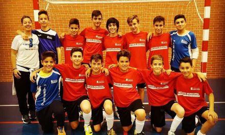 El equipo de fútbol sala infantil de Caravaca clausura la temporada en Las Fuentes