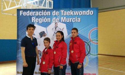 Yu Na Sin Lee y Gabriel Sánchez Freire, oro en el Campeonato Regional de Taekwondo