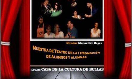 Los alumnos de la Escuela de Teatro de Bullas se suben al escenario este sábado para interpretar 'Morir o no'