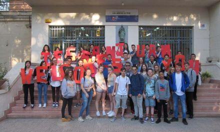 El IES San Juan de la Cruz recibe a los alumnos ingleses de intercambio