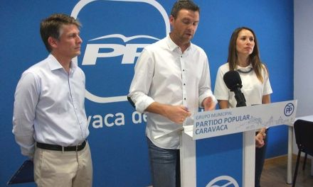 El PP considera que los vecinos perciben paralización  tras el primer año de legislatura del PSOE en Caravaca