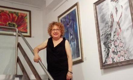 La artista moratallera Ana María Almagro expone en Madrid hasta el 29 de julio
