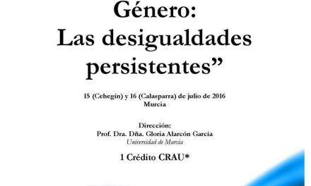 El IV Encuentro de Pensamiento Feminista se celebrará en Cehegín y Calasparra el 15 y 16 de julio
