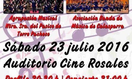 El Festival de Bandas Villa de Calasparra se celebra el 23 de julio