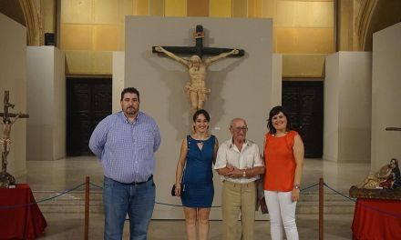 Inaugurada la exposición de la escultora Raquel Blázquez en La Compañía de Caravaca