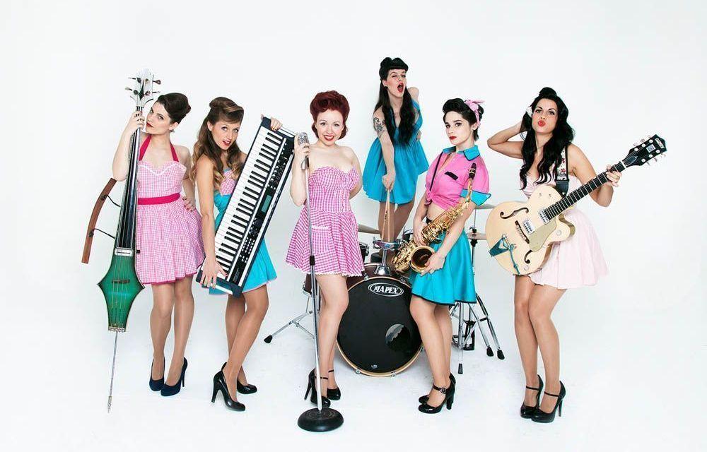 Noche de swing y rock and roll con The Ladies el 10 de junio en el Vaca Pop de Caravaca