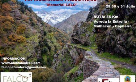 El Club Falco organiza el  VIII Mulhacén «Memorial Lalo» Falcotrail