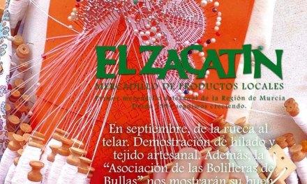 El arte del hilado y tejido artesanal en el próximo Zacatín de Bullas
