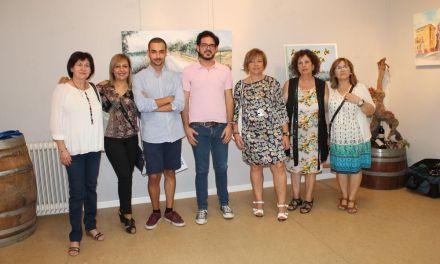 Inaugurada la exposición de pintura de rincones de Bullas y La Copa