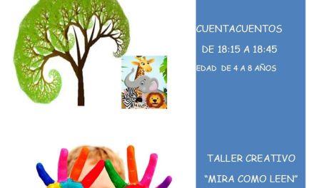La Biblioteca Municipal de Caravaca celebra todos los martes cuentacuentos y talleres de animación lectora