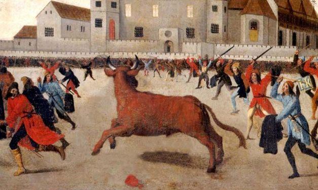 Un insólito caso de juego de toros en Caravaca en 1587