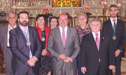 El presidente de la Comunidad asistió en Calasparra a la Santa Misa en honor a la Virgen de la Es peranza