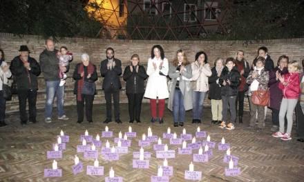 Emotivo y sentido acto de homenaje en Calasparra a las víctimas de la Violencia de Género