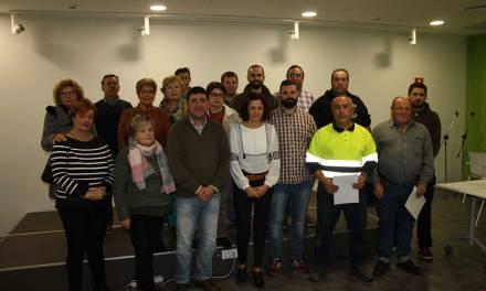 Entregados los diplomas de varios cursos gratuitos organizados por la Concejalía de Desarrollo Local de Cehegín