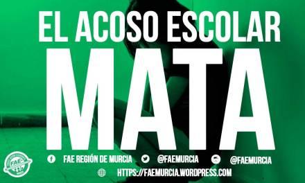 Desde el Frente de Acción Estudiantil de la Región de Murcia se denuncia el acoso escolar
