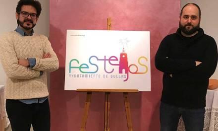 La concejalía de Festejos de Bullas ya tiene logo, obra de Gregorio Egea