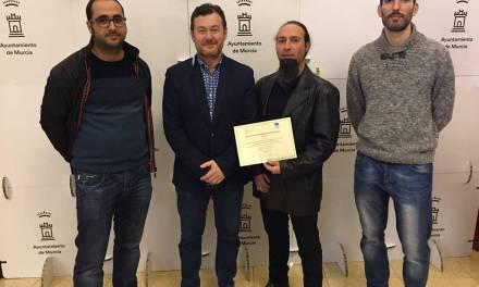 """La empresa ceheginera """"Abril Oficina Técnica"""", recibe un premio en el Concurso de Proyectos Empresariales del Ayuntamiento de Murcia"""